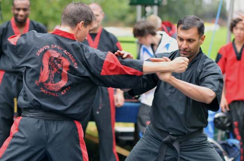 Kung Fu Instructor, Richard Bracey